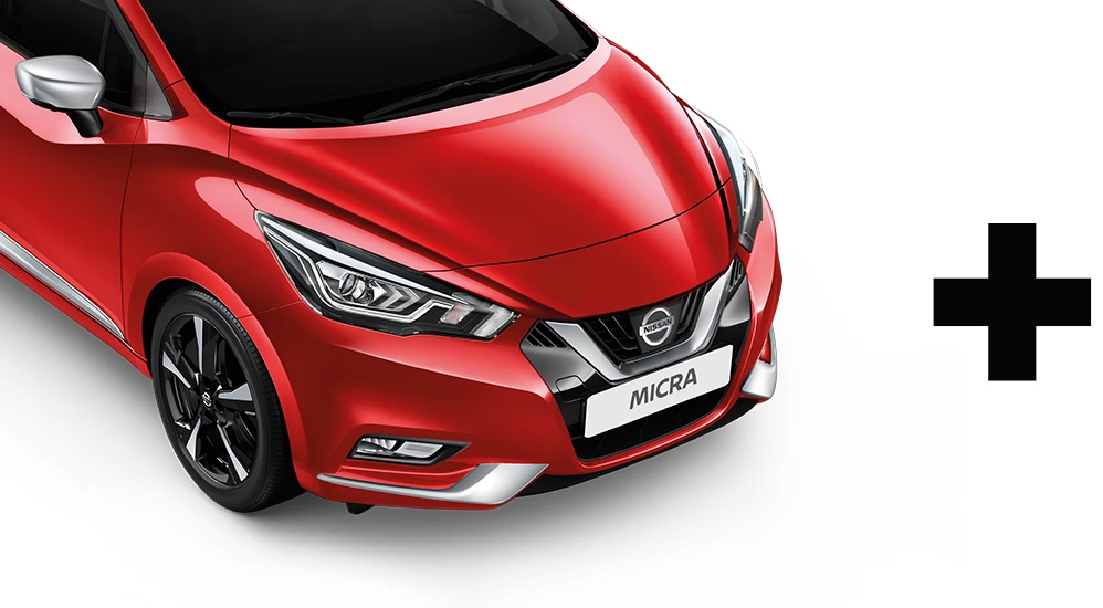 Nissan Micra exterior pack choices